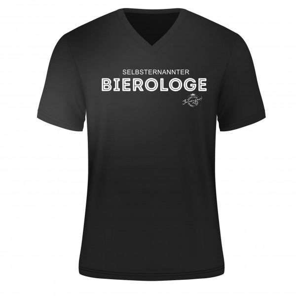 "T-Shirt "" selbsternannter Bierologe "" Bumsinger Edition"