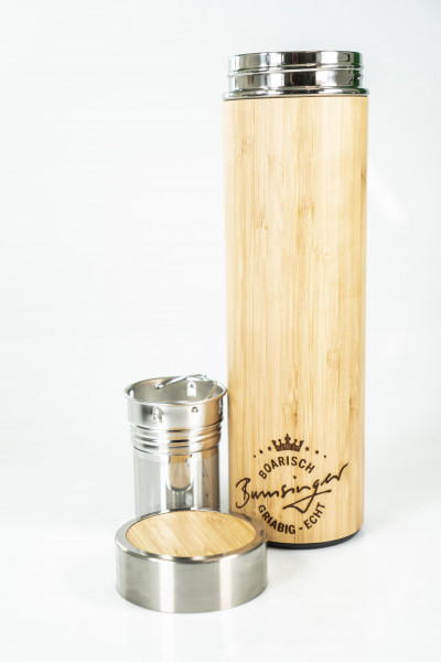 Bumsinger's Bambusflasche