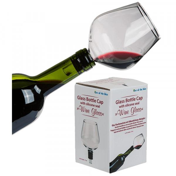 Weinflaschenglas Arschlecken350
