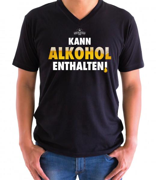 T-Shirt Kann Alkohol enthalten 3XL