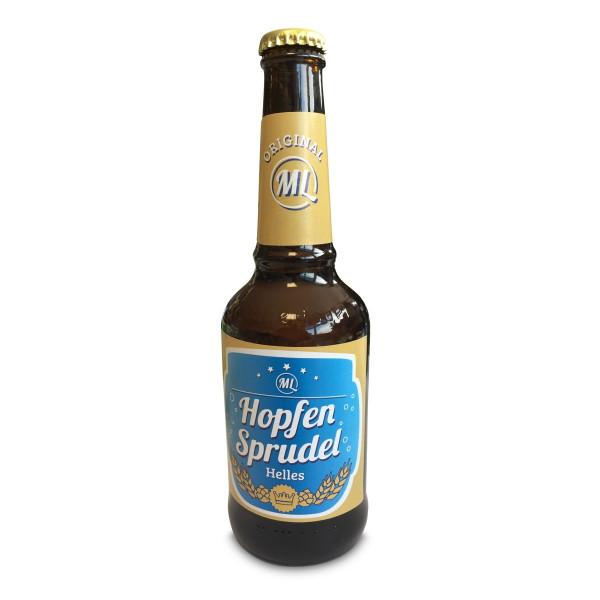 Bier Hopfensprudel 0,33 Liter Helles