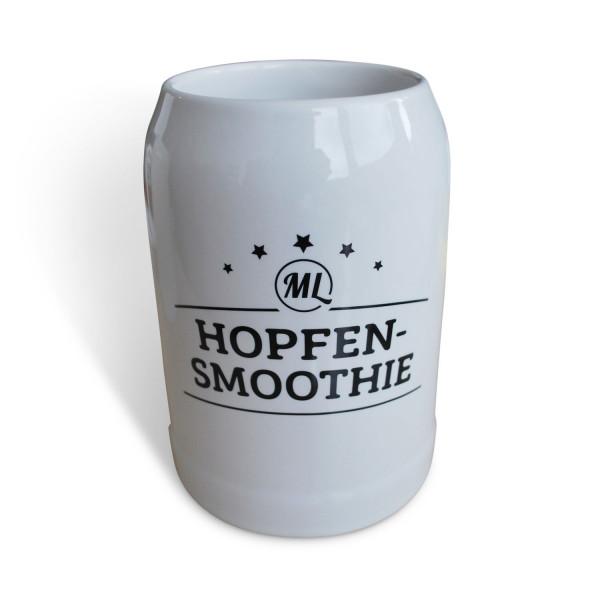 Bierkrug 0,5 Liter - Version: Hopfensmoothie