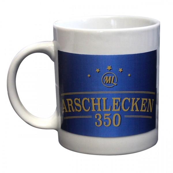 Tasse Arschlecken350