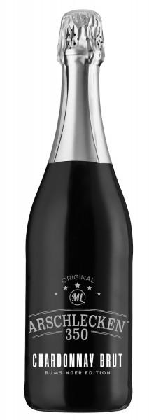 Arschlecken 350 Chardonnay Brut Sekt 0,75l