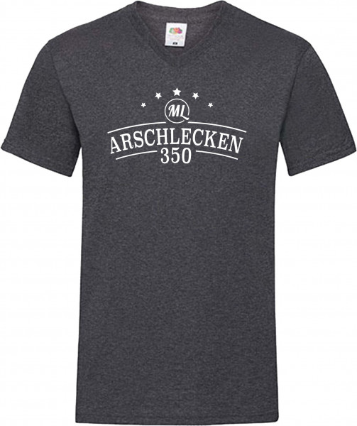 T-Shirt Original Arschlecken 350 - Glow in The Dark Version: schwarz dunkelgrau