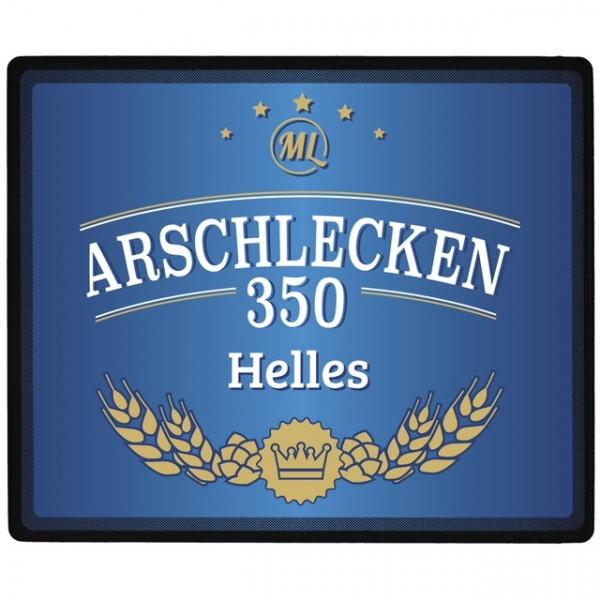 Mousepad Arschlecken350