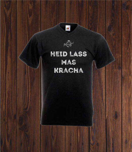 T Shirt Heid lass mas kracha