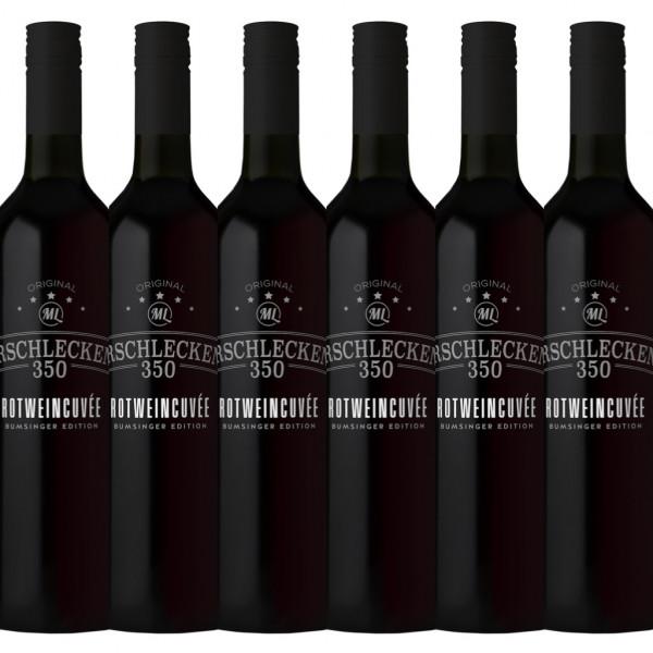 Arschlecken 350 Rotweincuvée trocken 0,75l 6er Set