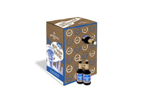 Arschlecken 350 Bier Adventskalender - Weihnachtsedition, 24 x 0,33l