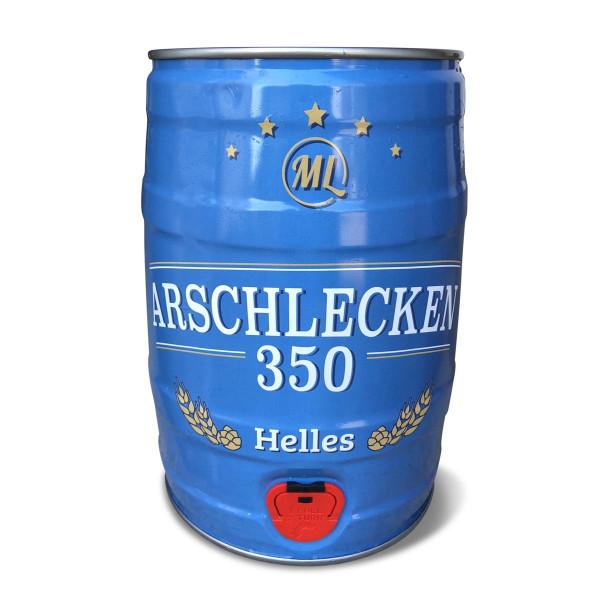 5 Liter Partyfass Party-Keg Arschlecken 350 Helles