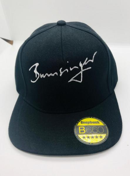 Bumsinger's Snapback Cap, schwarz