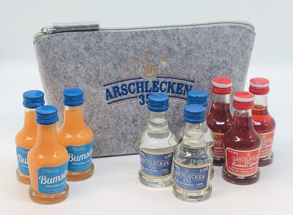 Filztasche Beauty & 3 x Mini Schnaps Variationen