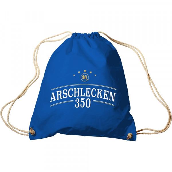Turnbeutel Arschlecken350