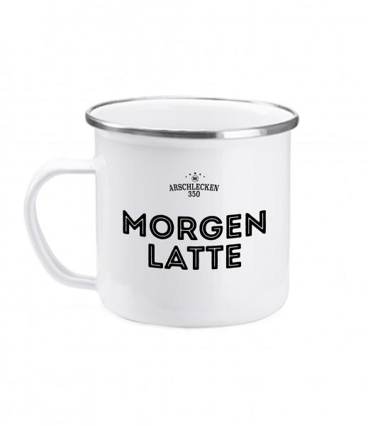 Kaffeebecher Morgenlatte