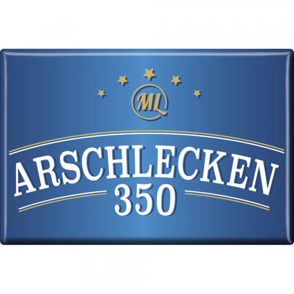 Kühlschrankmagnet Arschlecken 350