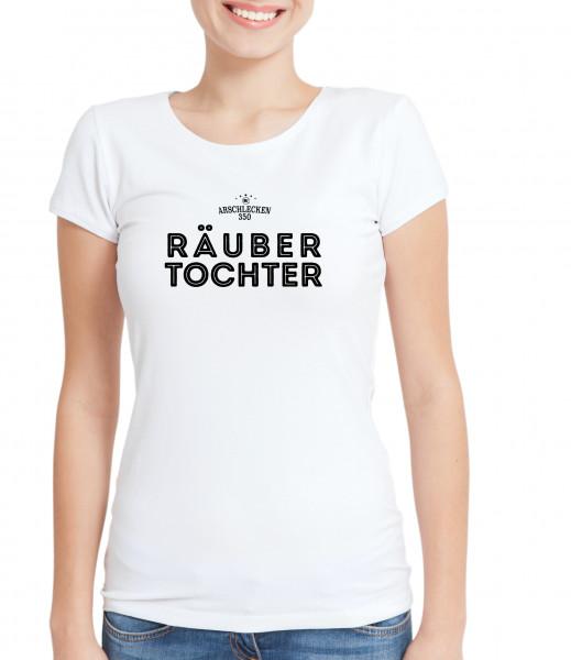 T Shirt Räubertochter V-Neck weiß