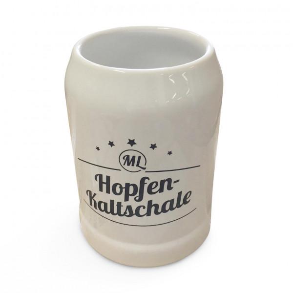 Bierkrug 0,5 Liter - Version: Hopfenkaltschale