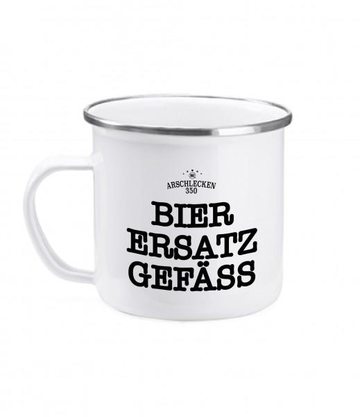 Bumsinger's Tasse Bier Ersatzgefäß, Emaille, 380ml