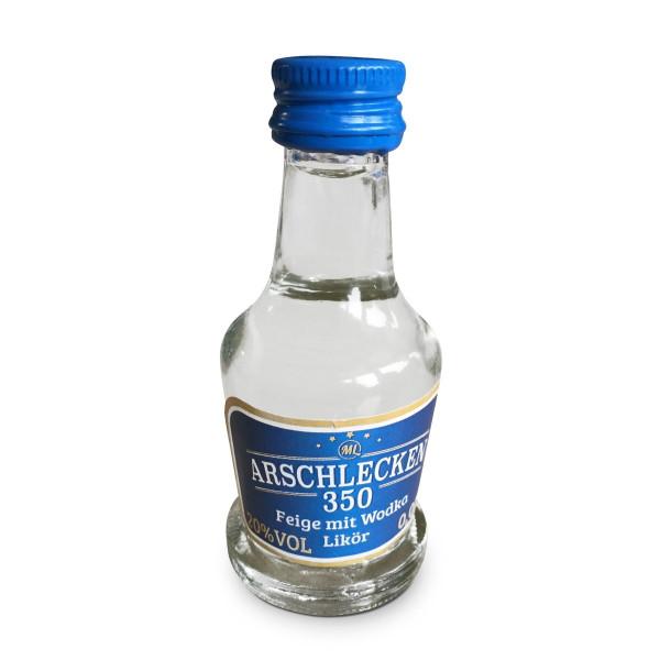 Arschlecken 350 Likör Wodka Feige 25 Stück/Pack 2 cl