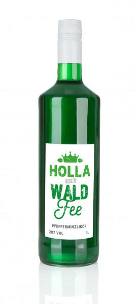 Holla die Waldfee Pfefferminzlikör 1 Liter