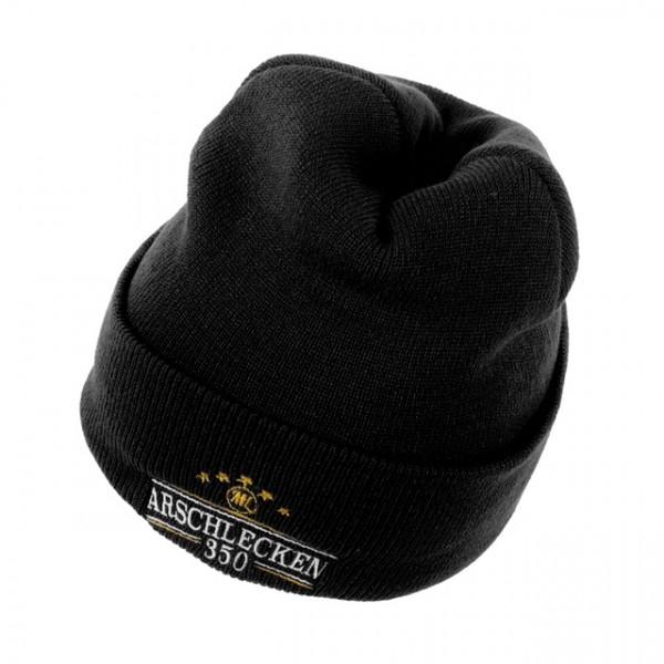 Hip Hop Beanie Arschlecken350, schwarz