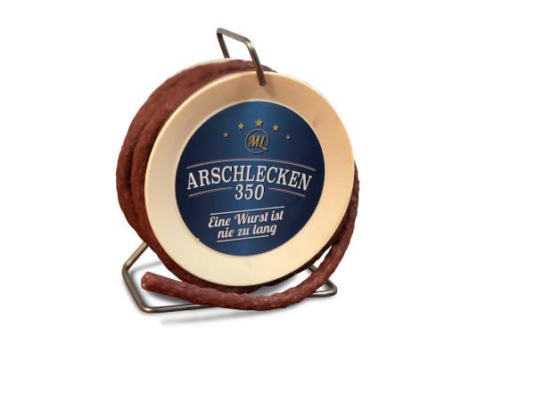 Arschlecken 350 Wursttrommel, Pikante Snack-Wurst, 3,5 m lang
