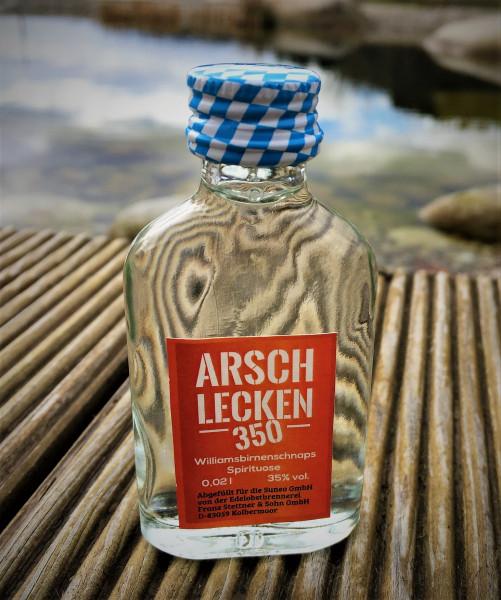 Arschlecken 350 Klopfer 2 cl 35 % vol. 24 Stück/Pack