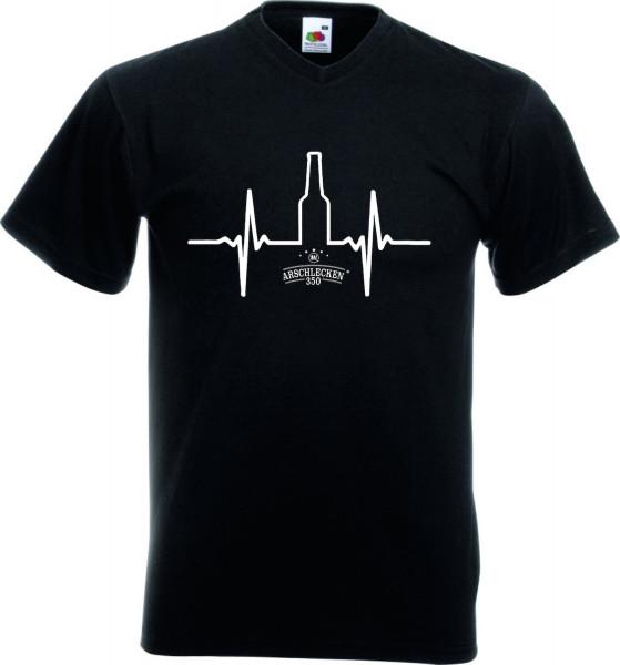 T Shirt Arschlecken 350 Herzschlag Größe L