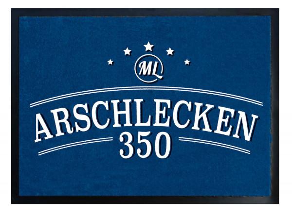 Fußmatte 60x40 Arschlecken350